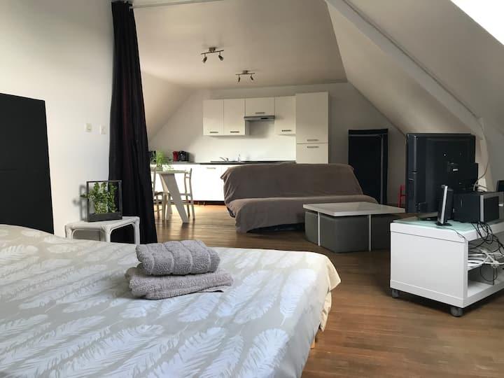 Studio neuf et lumineux entre Rennes et St Malo