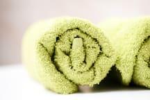 Clean,fresh towels