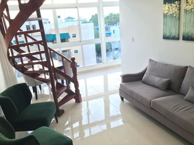 3 Bedroom Penthouse in Santo Domingo for 2-6 ppl - Santo Domingo - Lägenhet