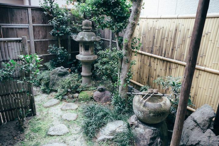 Japanese garden : Chonoya