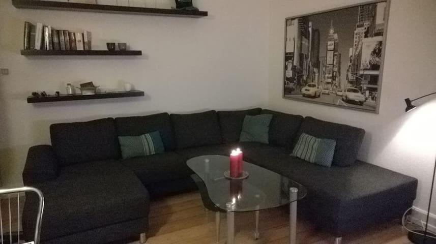 Lovely light app't near city centre - Aarhus C - Apartment