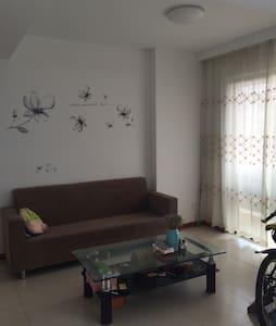 新小区对面即公园 ,两室一厅尽量女生定,独立房间空调电视洗衣机, - 台州 - Appartamento
