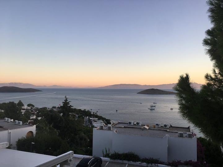 BEST PREİS -  VOLLES HAUS - AUSSİCHT - 10 MİN MEER