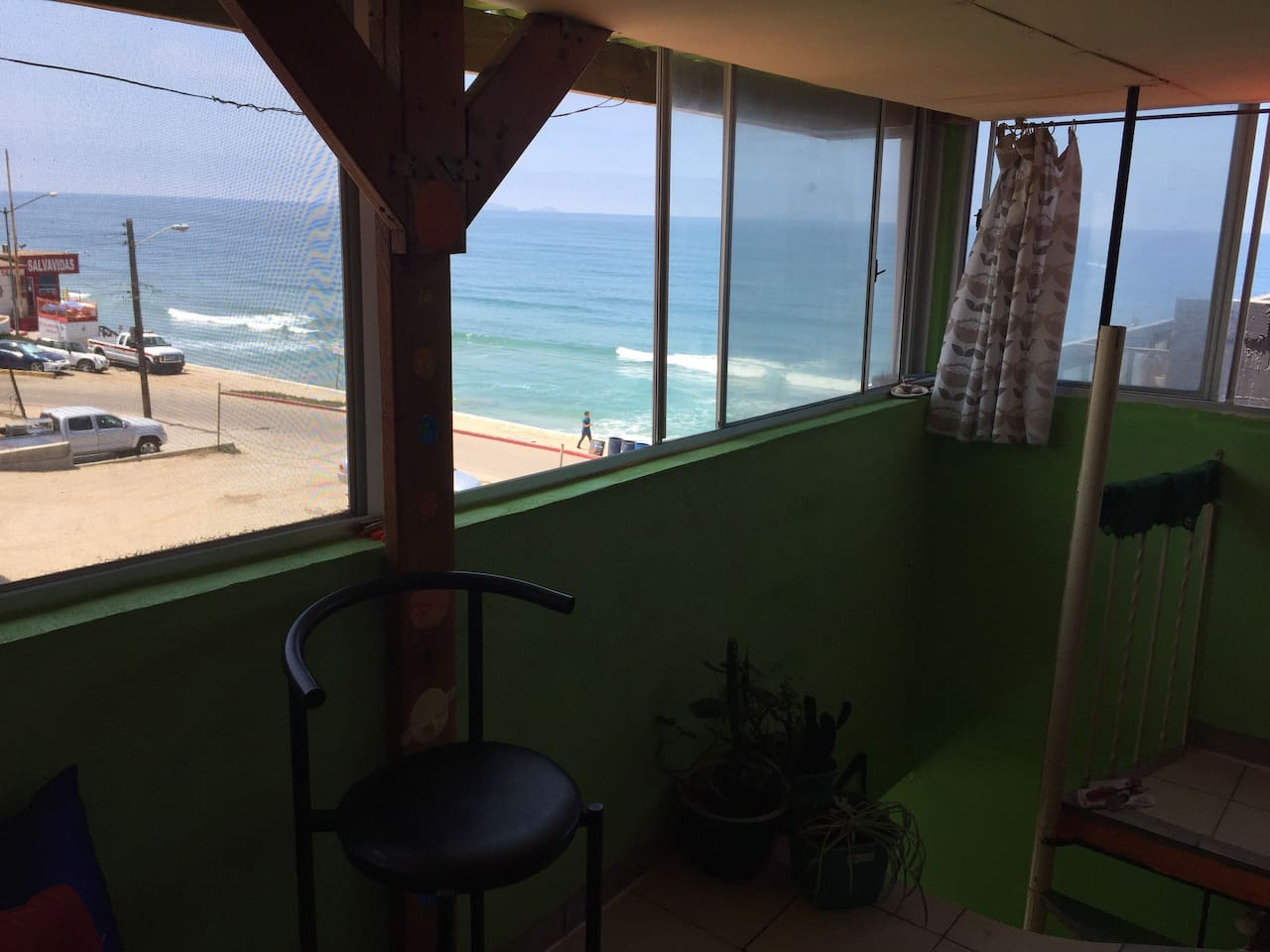 3rd floor green apt. Amazing views and fresh ocean breeze all day!