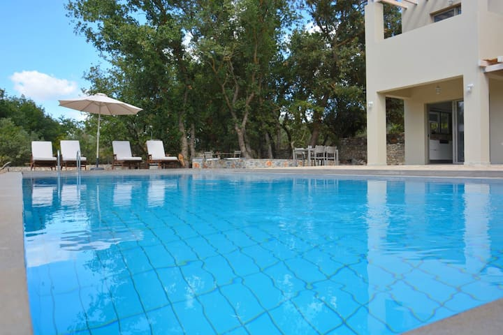Villa with pool & gardens perfect for families! - Litsarda - Villa