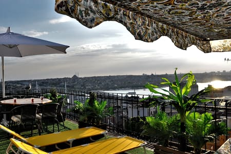 YOUR ROOF-TOP TERRACE ISTANBUL DREAM FLAT!!!
