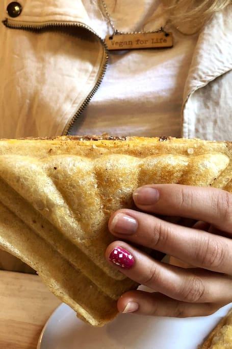 The best vegan jaffles at our secret caf