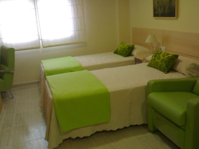 Double apartment - 2 single beds. 4