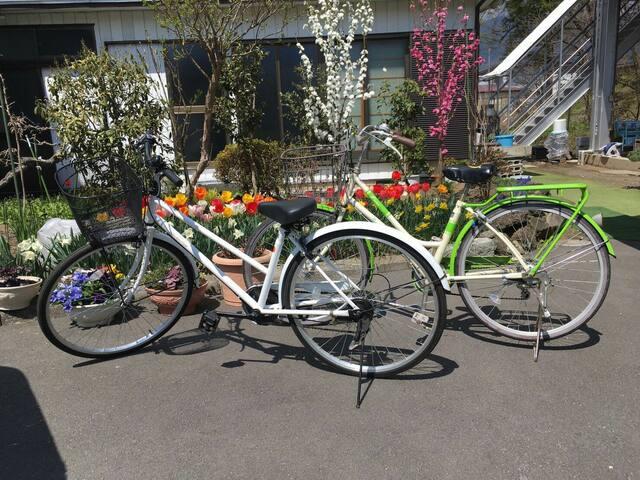 SALE!Even1person OK!3min LAKE near Onsen spo!bikes