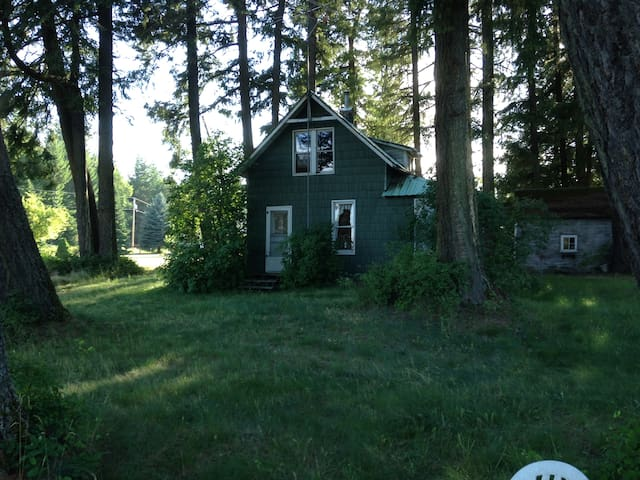 The Little House on 5 Acres 5 mins. from Sandpoint - Sandpoint - Dom