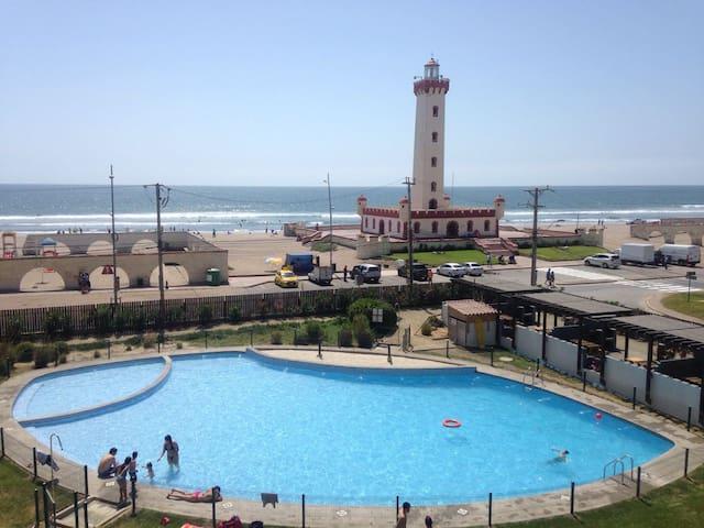 Vacaciones Frente al Faro de La Serena