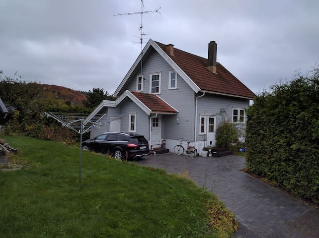 1 room in cozy house near sentrum - Sandefjord - Casa