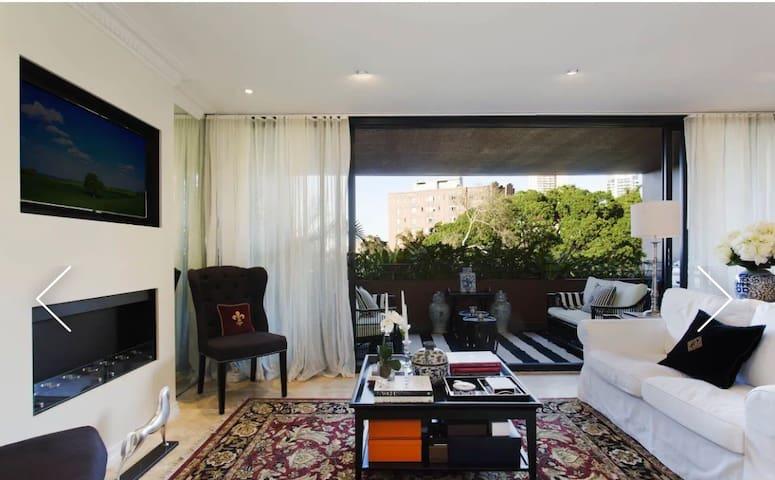 Uber luxurious designer Potts Point apartment