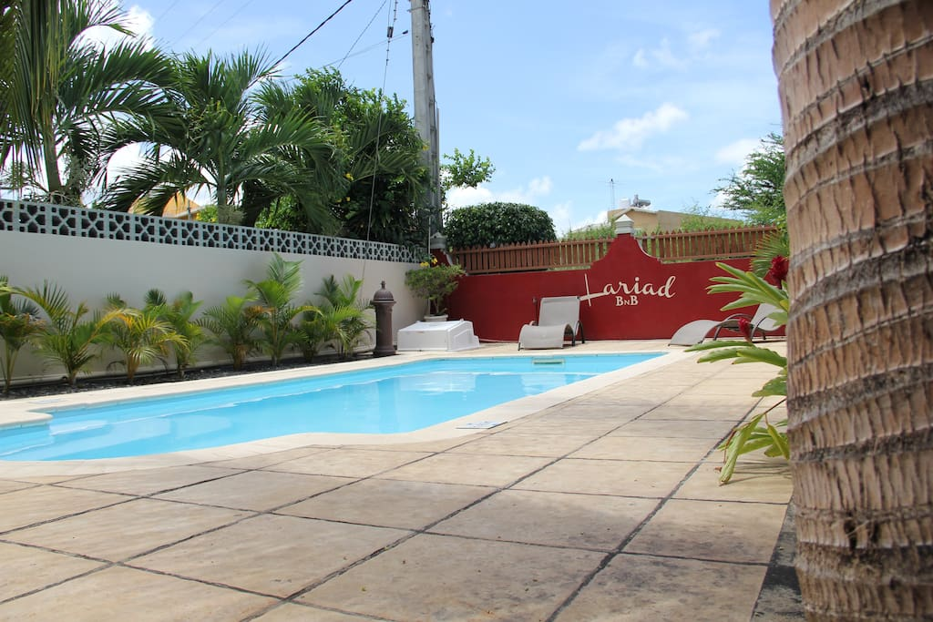 Sunshine, breeze.. Just relax and enjoy our outdoor pool!