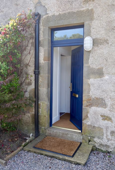 Private entrance to the self-contained annexe.