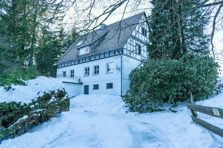 Rustig chalet in Neuastenberg vlak bij het skigebied