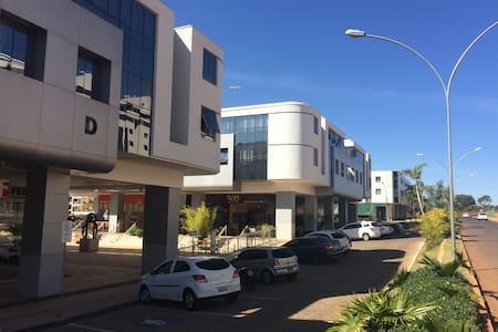 Flat prático e confortável na zona mais exclusiva - Brasília