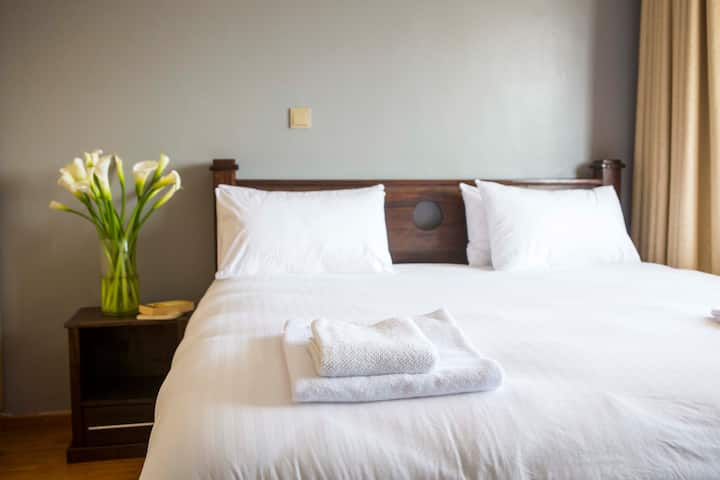 Escape in a self catered sanitized apartment - Nairobi