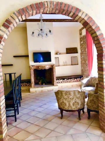 The living room - Il salone