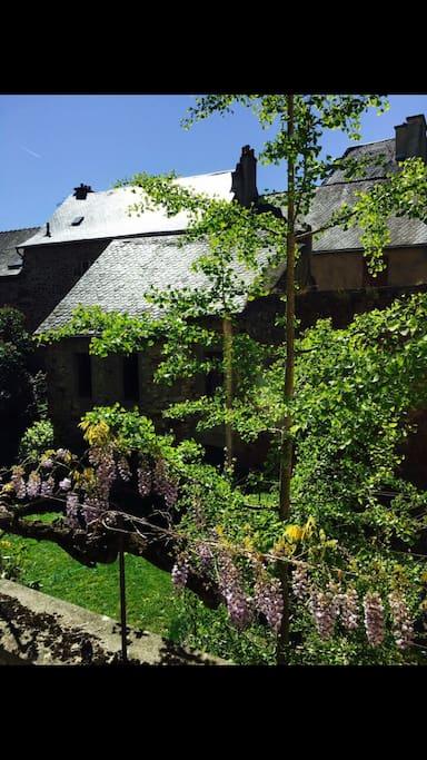 Vue de l appartement et de la terrasse