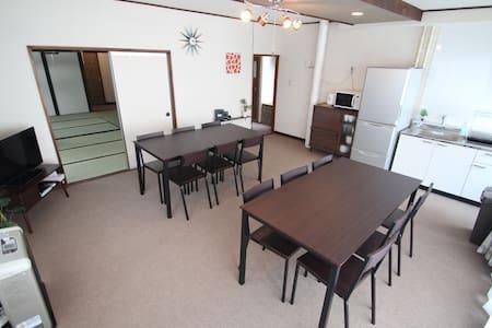 Japanese-style house 2★Subway Sta.1min★2 car parks