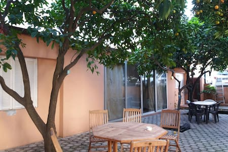 T2 indépendant dans jardin de ville arboré - Ajaccio
