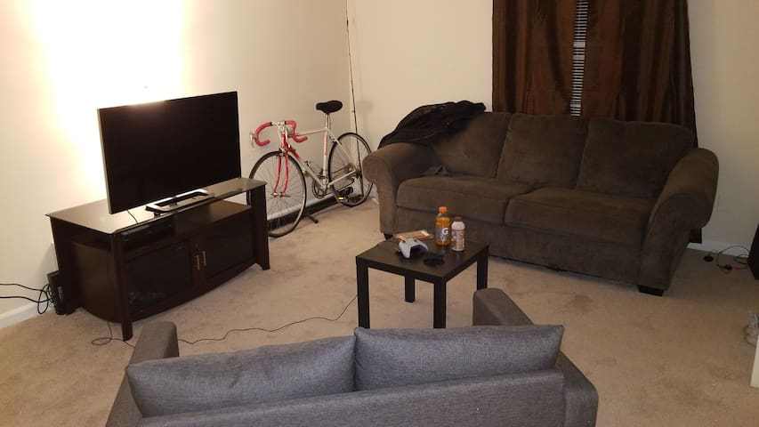 First apartment
