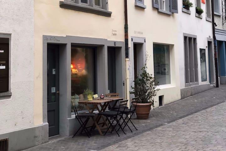 """Zimmer """"ZWEI"""" im Bohnenblühn miniHotel"""