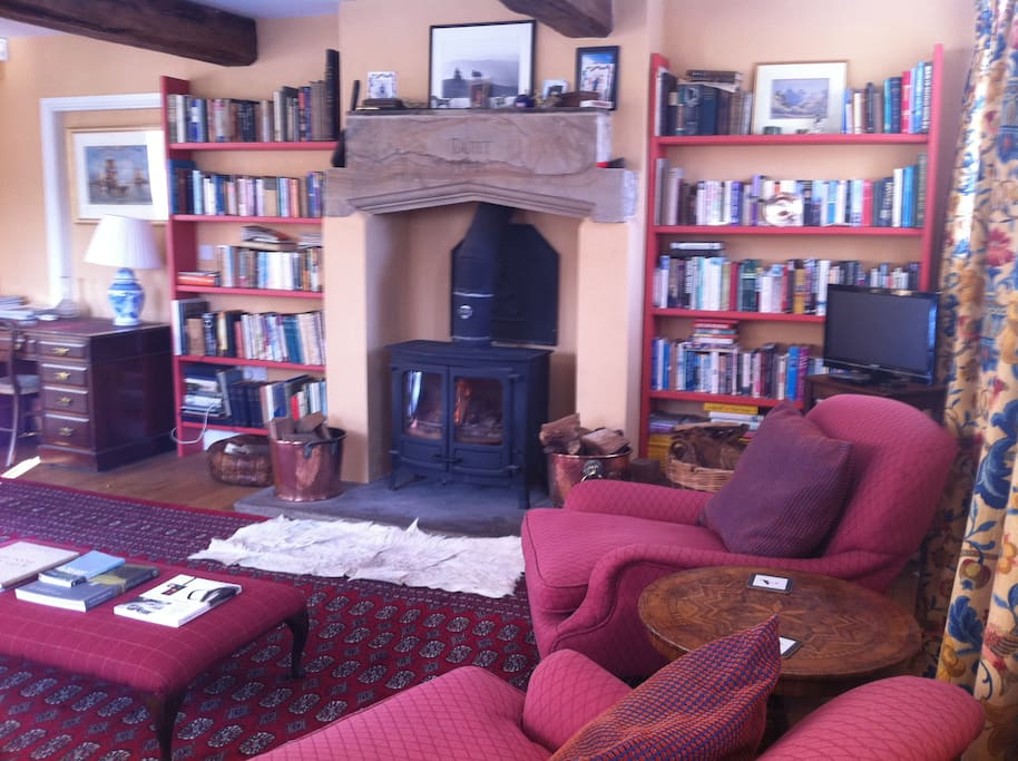 The sitting room - the ultimate in 'hygge'