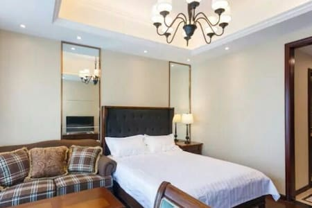 G20峰会主会场旁,美式精装酒店式公寓,地铁钱江世纪城站200米,萧山机场15分钟车程 - Hangzhou