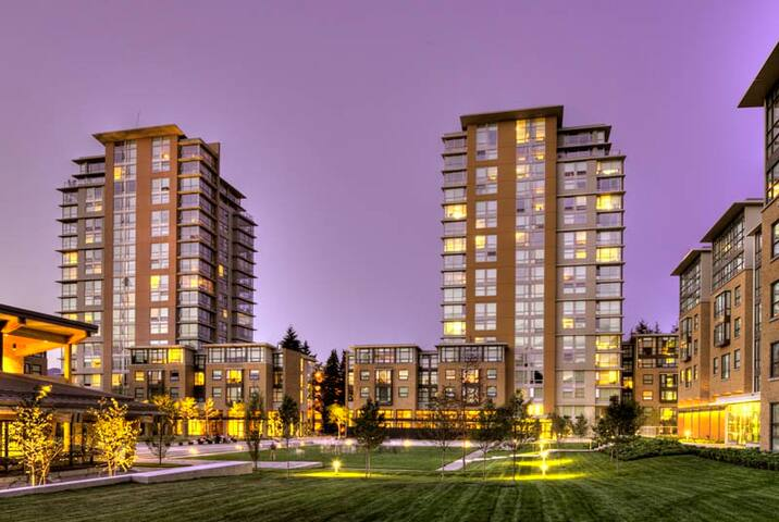 UBC Marine Drive dormitory - Vancouver - Dormitorio