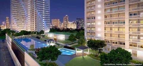 Fern Residences Condominium with Sky Fiber & Cable