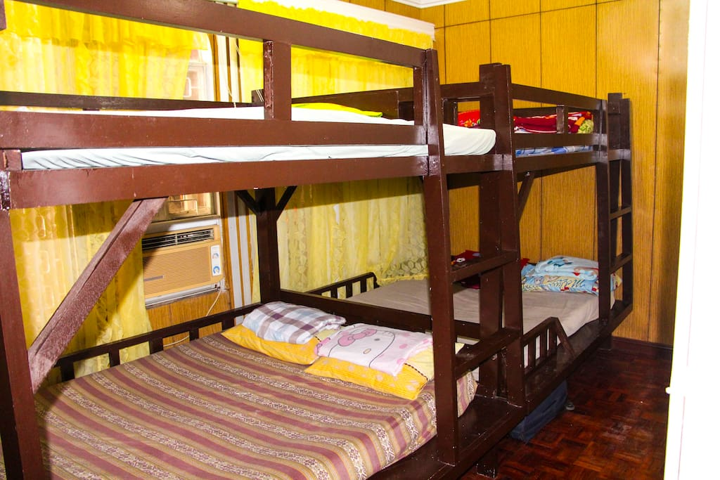 AC cooled 2nd BR with double decks queen size beds to accommodate 8-10 people