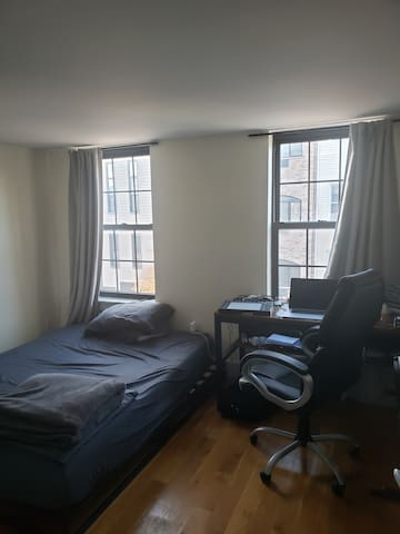 Room in artistic Bushwick, Brooklyn.