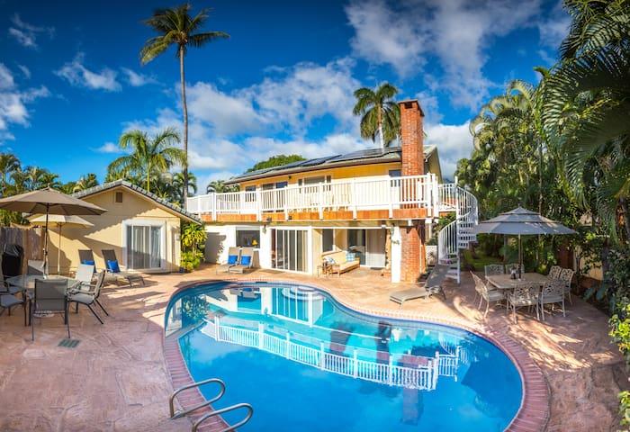 Gated Estate Pool Walk 2 Beach-Town