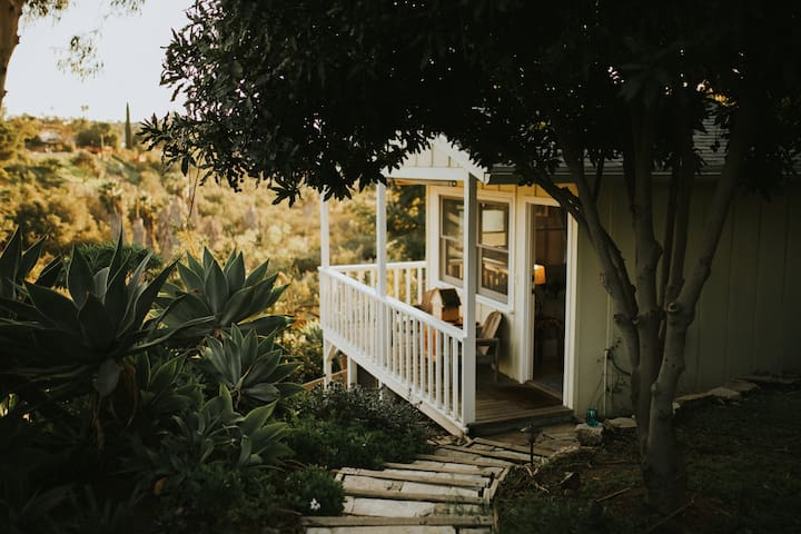 Flagstone Steps, Under the Macadamia Nut Trees