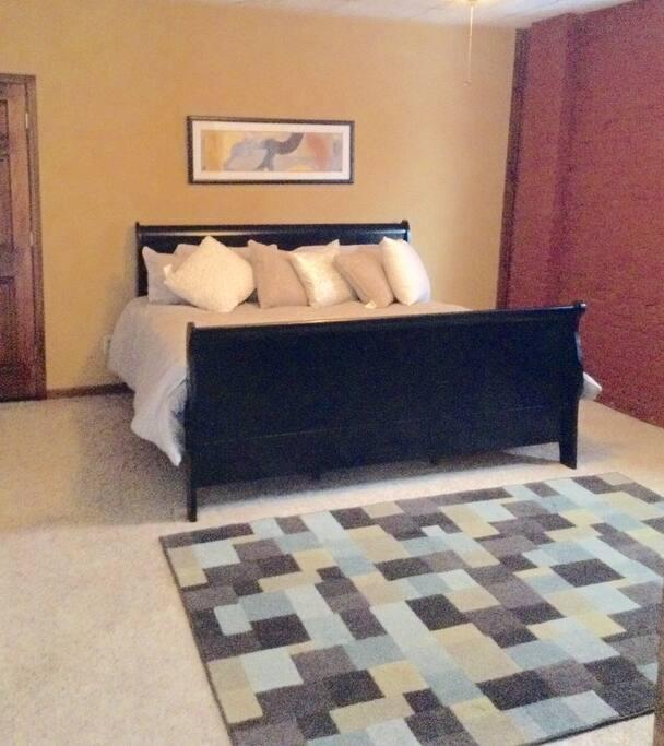 Lavish king size accommodations