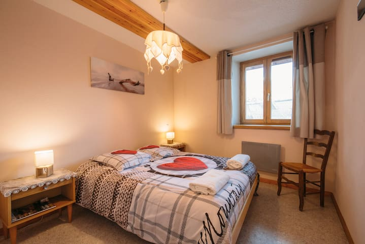 Grand appartement à 15mn des pistes - Mâcot-la-Plagne - Appartement