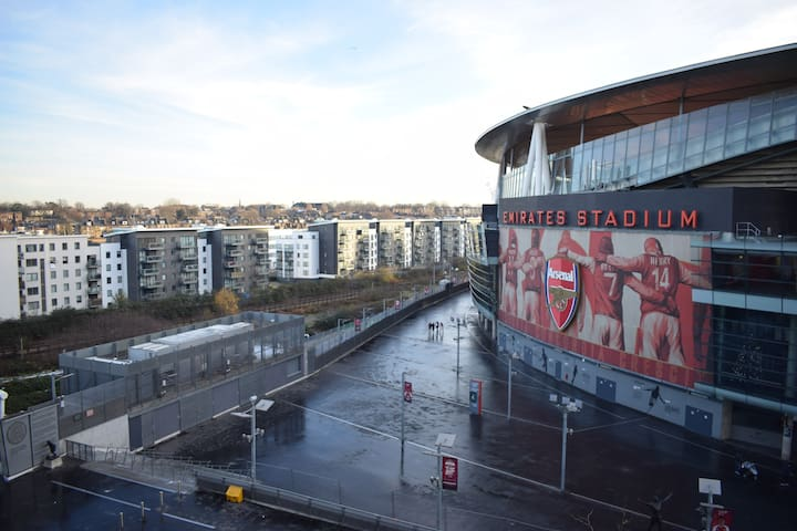 Arsenal Football Stadium Apartment