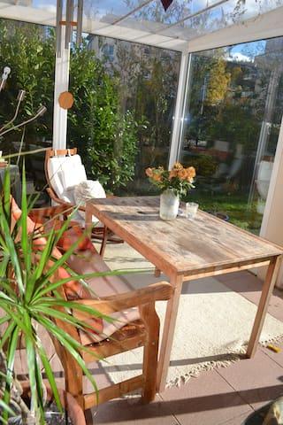 Wohnung im grünen Vauban mit Garten - Freiburg im Breisgau - Lägenhet