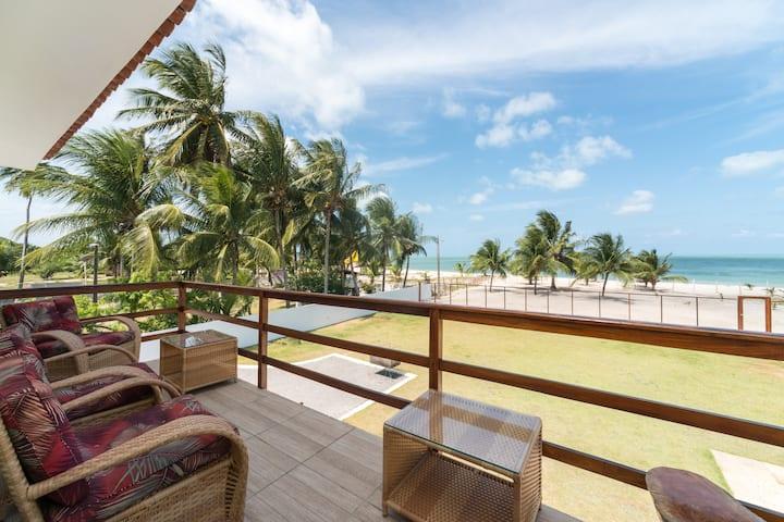 Manga Verde Beach 09: Sky and Beach View