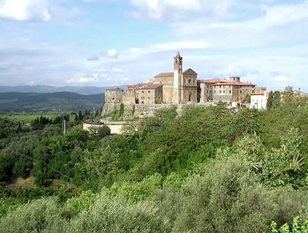 Vacanze in Toscana, Collina in Maremma - Caldana - Daire