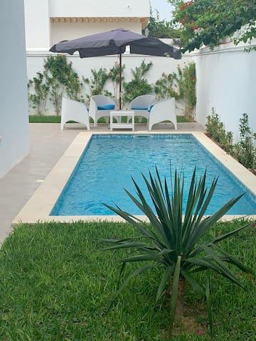 Airbetter -Superb 3bed Villa with pool Iris 3 Hammamet