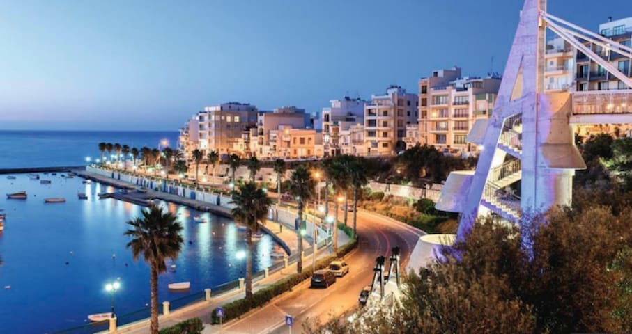 St Paul's Bay - close to sea and amenities