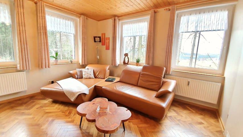 Ferienwohnung im Thüringer Wald mit Sauna
