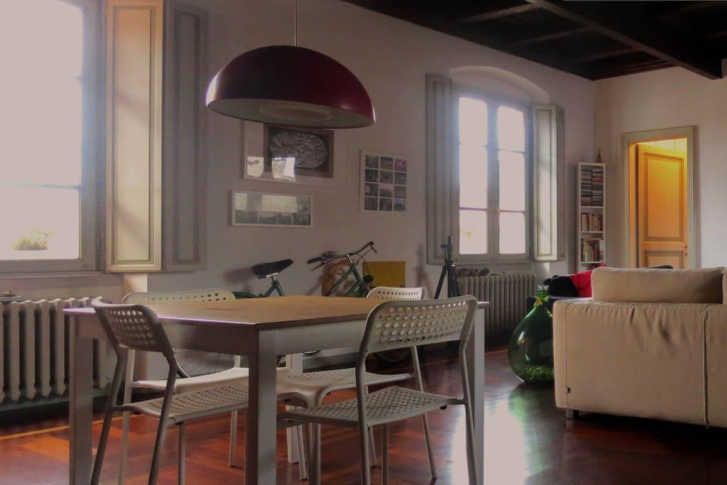 Livingroom | soggiorno visto dall'ingresso