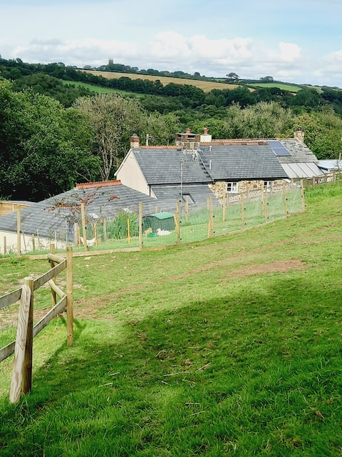 'Small Fry' is a 2 bed animal friendly rural space