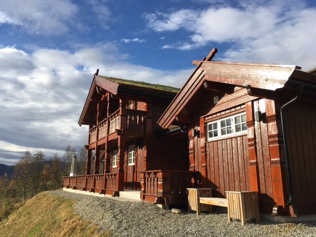 Luxurious Large Cabin in Myrkdalen Fjellandsby! - Voss - Hus