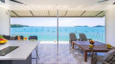 Panoramic View in Tropical Paradise 热带风情海景小屋