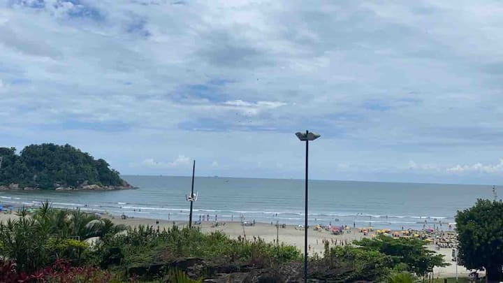 Apartamento - loft Santos - frente pro mar